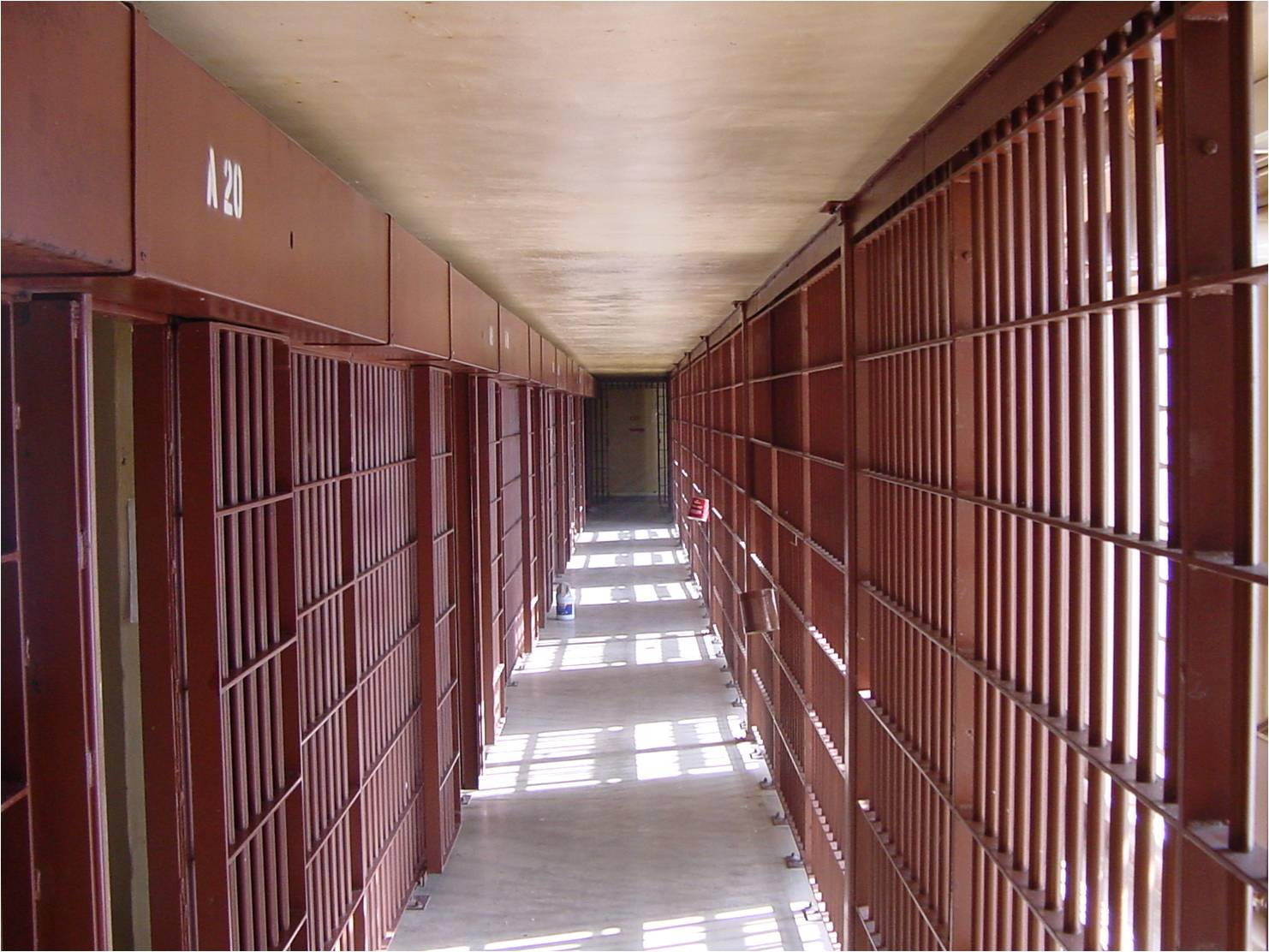 Nevada State Prison, A-Block Interior